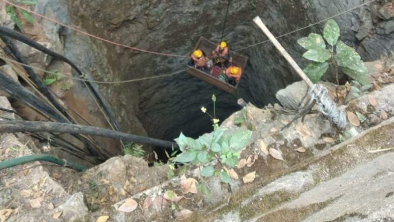 Meghalaya Mining Tragedy: 28 Lakh Litres of Water Pumped Out of Rat-Hole Mine but No Change in Water Level, Says Navy