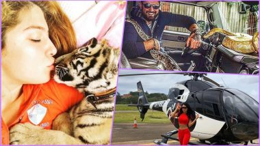 Rich Kids of Istanbul Are Flaunting Their Wealth on Instagram! From Owning a Tiger Cub to Private Jets, View Pictures of Their Wealthy Lifestyle