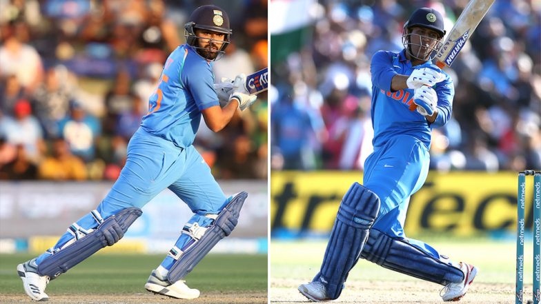 Rohit Sharma Equals MS Dhoni's Record of Most Sixes for India in ODIs