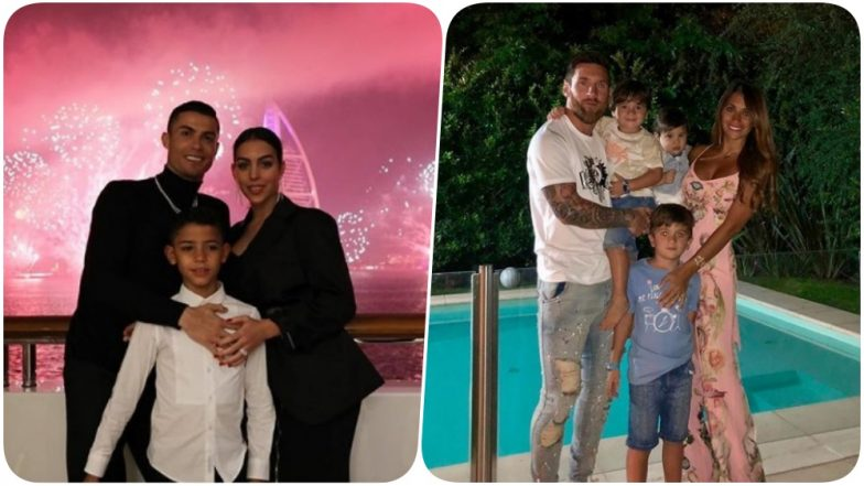 Lionel Messi and Cristiano Ronaldo Celebrate New Year's Eve With Families (See Pics)