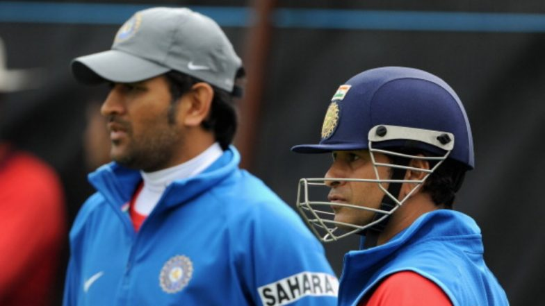 MS Dhoni About to Break Sachin Tendulkar's Record During India vs New Zealand 2019