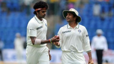 S Sreesanth Heaps High Praise on Sachin Tendulkar, Calls Him 'The Real God of Cricket'