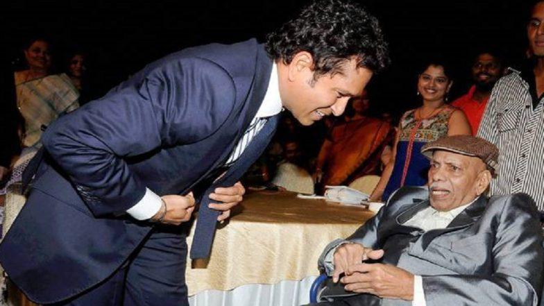 Ramakant Achrekar's Death: Cricket Fraternity Mourns Sachin Tendulkar's Coach's Demise