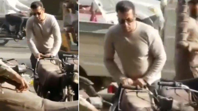 Salman Khan's Lookalike  from Karachi, Pakistan Is Going Viral on the Internet, Twitter Reactions Are Hilarious (Watch video)