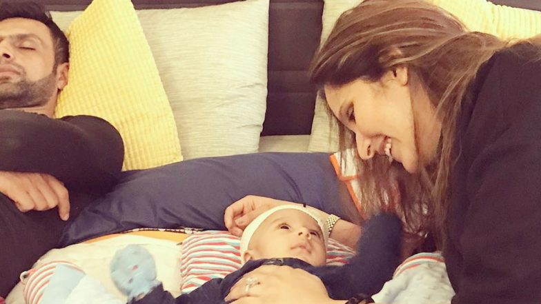 Sania Mirza Thanks Almighty for Baby Izhaan; Wishes to Have a Sound Sleep Like Hubby Shoaib Malik in 2019!