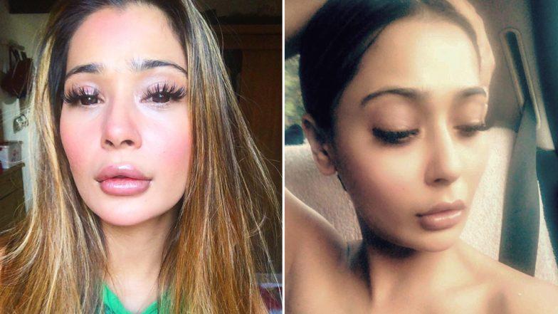 Sara Khan's Lip Job Makes Her 'Ducktales' Ready; View Off-Putting Pics!