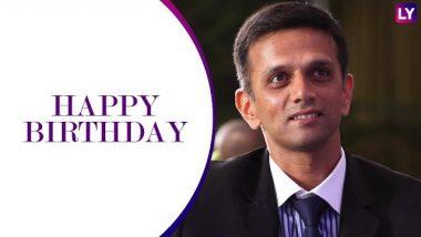 Rahul Dravid Birthday