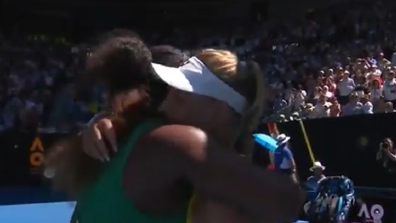 Viral Video of Serena Williams Consoling a Crying Dayana Yastremska After Third-Round Australian Open 2019 Match Will Warm Your Hearts