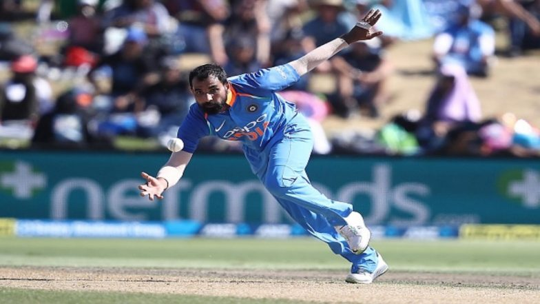 Simon Doull Appreciates Mohammed Shami's English During the Presentation Ceremony of IND vs NZ 3rd ODI 2019 (Watch Video)