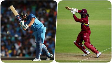 Rohit Sharma Surpasses Chris Gayle to Create This Record During India vs Australia, 2nd ODI 2019