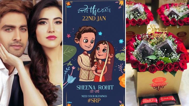 Rohit Purohit and Sheena Bajaj's Wedding Invites Made of Roses and Brownies Are a Treat for the Senses!