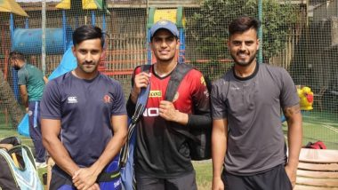 Shubman Gill Trains at KKR's Bengaluru Academy Ahead of India vs New Zealand 2019 Series (See Pics)