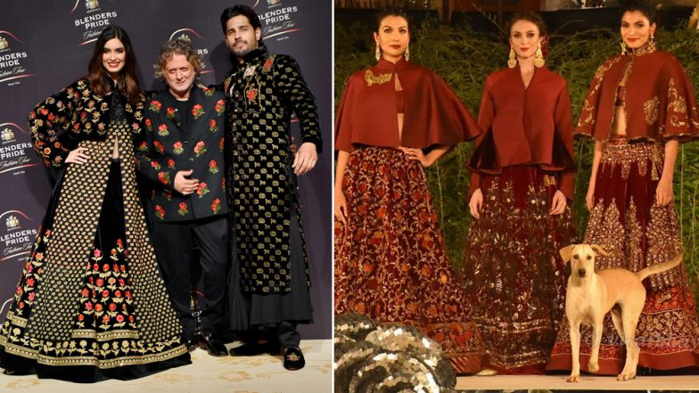 Stray Dog Steals Sidharth Malhotra's Limelight As He Walks the Ramp for Rohit Bal's Fahion Show - Watch Video