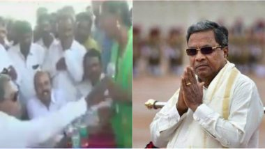 Siddaramaiah Loses Cool at Mysuru Event, Yells at Woman, Pulls Mic From Her: Watch Video