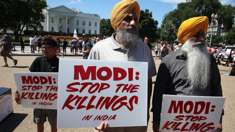 Washington: Pro-Khalistan Group 'Sikhs For Justice' Plans Burning Indian Flag on Republic Day, Decides Not to Amid Protests