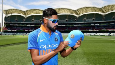 Mohammed Siraj Becomes the Second Most Expensive Debutant Bowler During India vs Australia 2nd ODI 2019 Match