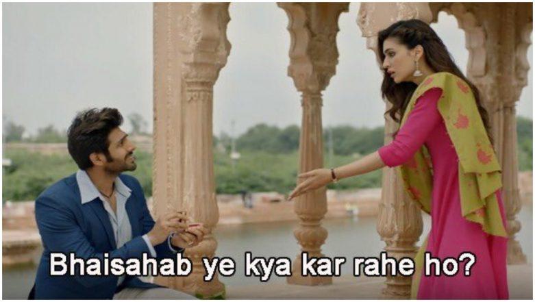 Luka Chuppi: Kartik Aaryan and Kriti Sanon's Movie Trailer Sparks Hilarious Memes on the Internet