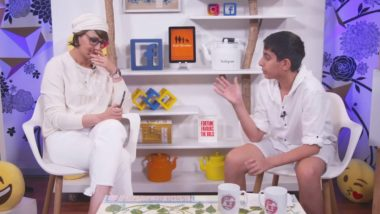 Sonali Bendre Live Streams Her Book Discussion with Son Ranveer and Their Conversation Is Adorable – Watch Video