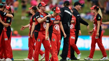 Sydney Sixers Qualify for WBBL 2019 Final After a Dramatic Super Over Against Melbourne Renegades (Watch Video)