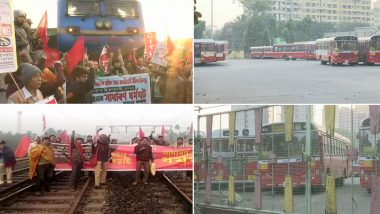 Bharat Bandh, Bank Strike Today Live News Updates: KSRTC Buses Running on Many Routes