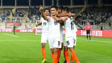 AFC Asian Cup 2019 Video Highlights: India Overpowers Thailand as Sunil Chhetri Gets Past Lionel Messi