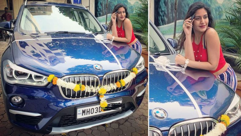 Ishqbaaz Actress Surbhi Chandna Gifts Herself an Expensive BMW Car! View Pic