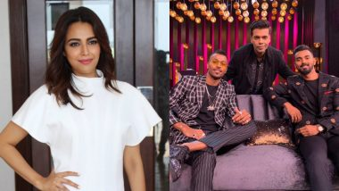 'Being Crass Is Not a Crime': Swara Bhasker Questions Why CoA Wants Supreme Court's Help to Punish Hardik Pandya and KL Rahul