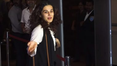 Did Taapsee Pannu Gatecrash Aamir Khan's Rubaru Roshani Screening? This Funny Video Explains