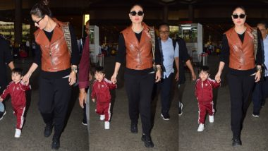 Dekho Wo Aa Gaya! Taimur Ali Khan Is Back in Town – View Pics
