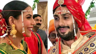Prateik Babbar and Sanya Sangar's Wedding Pictures Are Out and They're Beautiful