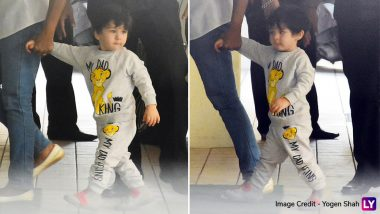 Watch Out Ranveer Singh! Taimur Ali Khan is the New Simmba in B-Town - See Pics