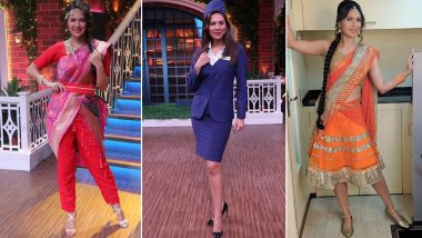 Rochelle Rao Raises the Oomph Factor With Her Glamorous Avatars in Kapil Sharma's Show - View Pics