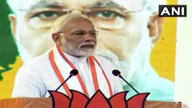 Sabarimala Temple Row: CPI Hits Back at Narendra Modi's Comments, Says PM Speaking Like RSS 'Pracharak'