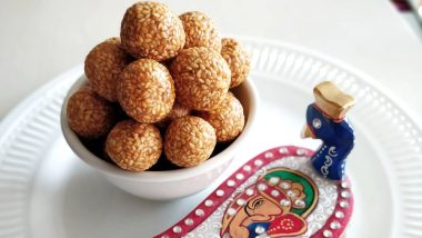 Makar Sankranti 2020: On A Weight Loss Diet? Here's How the Low-Calorie Tilgul Laddu Will Keep You in Shape!