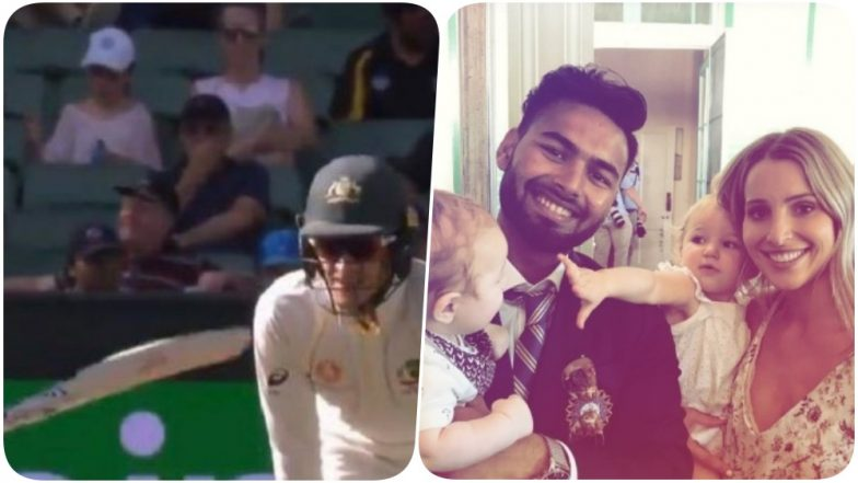 ICC Pokes Fun at Tim Paine's Babysitting Comment as Rishabh Pant Poses with Aussie Captain's Wife & Babies