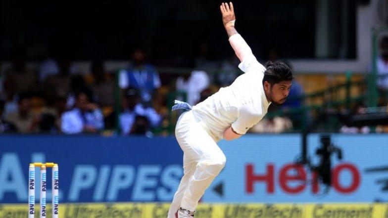 Umesh Yadav Snaps Seven Wickets in 2018-19 Ranji Trophy Semi-Final Against Kerala; Puts Vidarbha in Driver's Seat (Watch Video)
