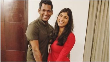 Arjun Reddy Actress Anisha Announces Her Wedding With Vishal on Social Media – View Pic