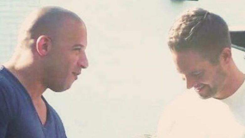 Fast and Furious Star Vin Diesel Posts a Picture with Late Paul Walker, Says He Is 'Grateful for the Priceless Memories'