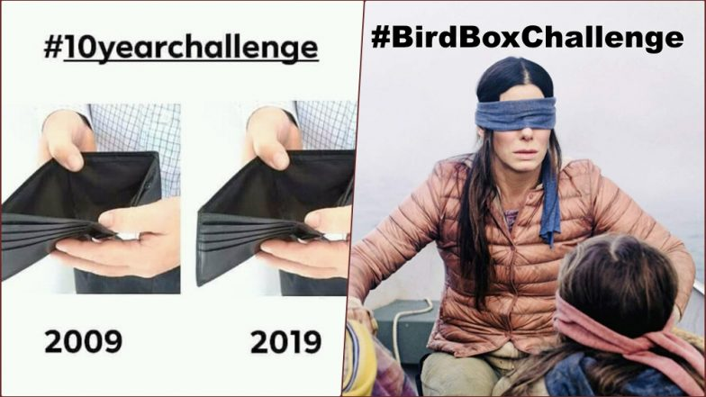 #10YearChallenge to #BirdBoxChallenge, 8 Fun and Fatal Social Media Challenges That Went Crazy Viral
