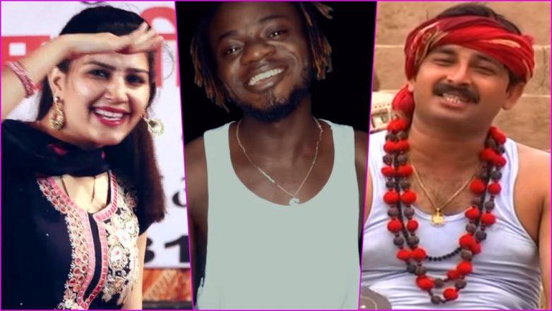 Rinkiya Ke Papa to Teri Aakhya Ka Yo Kajal, Watch Nigerian Singer Samuel Singh Croon Manoj Tiwari's Bhojpuri and Sapna Choudhary's Haryanvi Hit Songs!