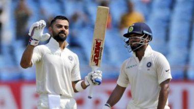 Virat Kohli Helps Rishabh Pant in the Nets, Wicket-Keeper Batsman Ends up Scoring Century (Watch Video)
