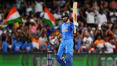 Virat Kohli Scores 39th ODI Century During Ind vs Aus 2nd ODI 2019, Becomes the Third With Most international Centuries