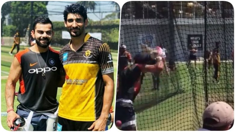 Virat Kohli Practices Against Pakistani Bowlers During the Nets Ahead of IND vs AUS 4th Test 2019 (Watch Video)