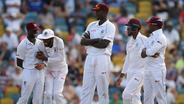 Windies on top as England collapse - again