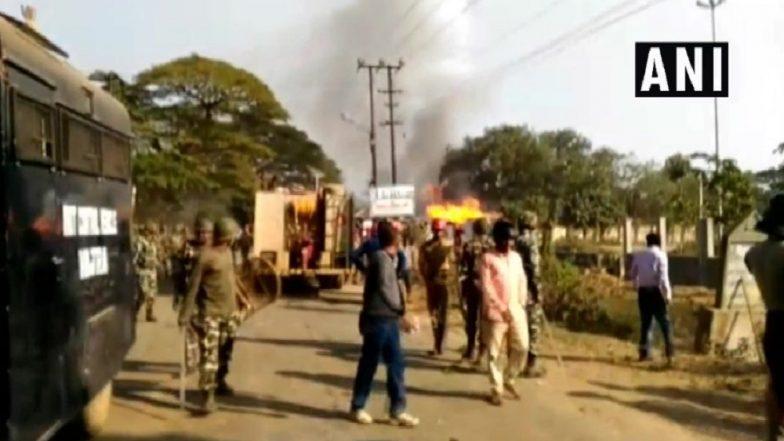 Bharat Bandh: SBI Treasury Branch at Thiruvananthapuram Attacked, Trains Blocked