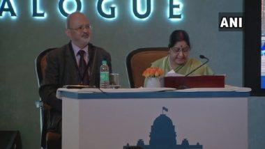 Need to Ensure 'Zero Tolerance' Towards Terrorism: Sushma Swaraj