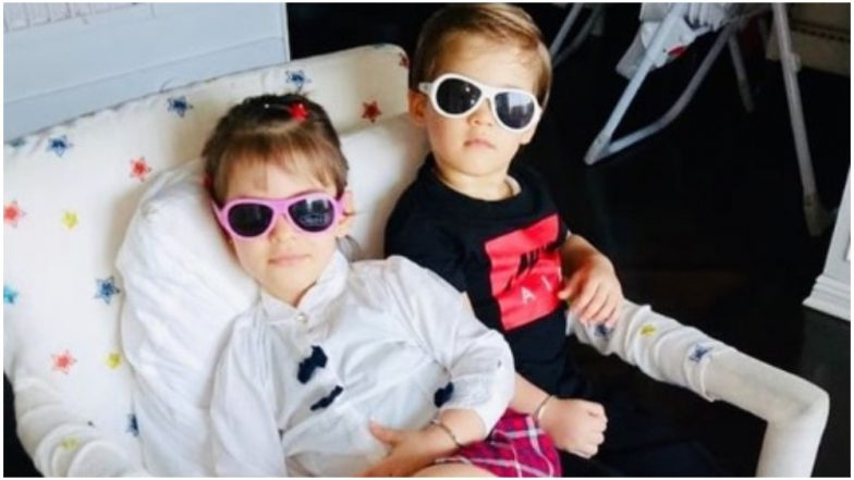 Karan Johar's Little Munchkins Yash and Roohi's Latest Picture Makes for an Awesome Baby Magazine Cover – View Pic