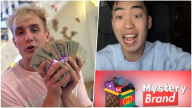 YouTubers Jake, RiceGum Lands in Controversy for Promoting Mystery Box Gambling Site; Watch Videos