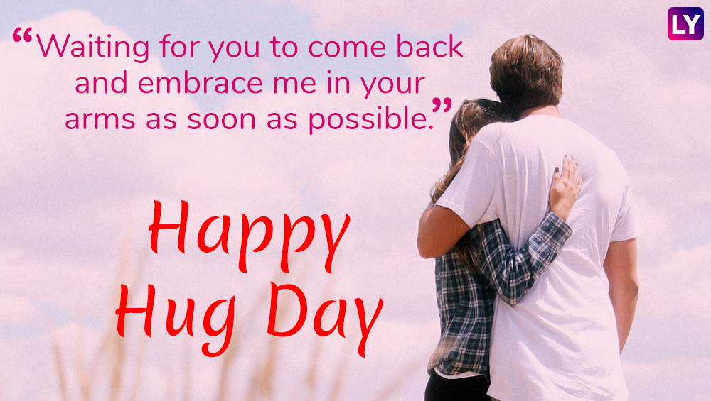 Hug Day 2019 Messages Beautiful Quotes Romantic Gif Images