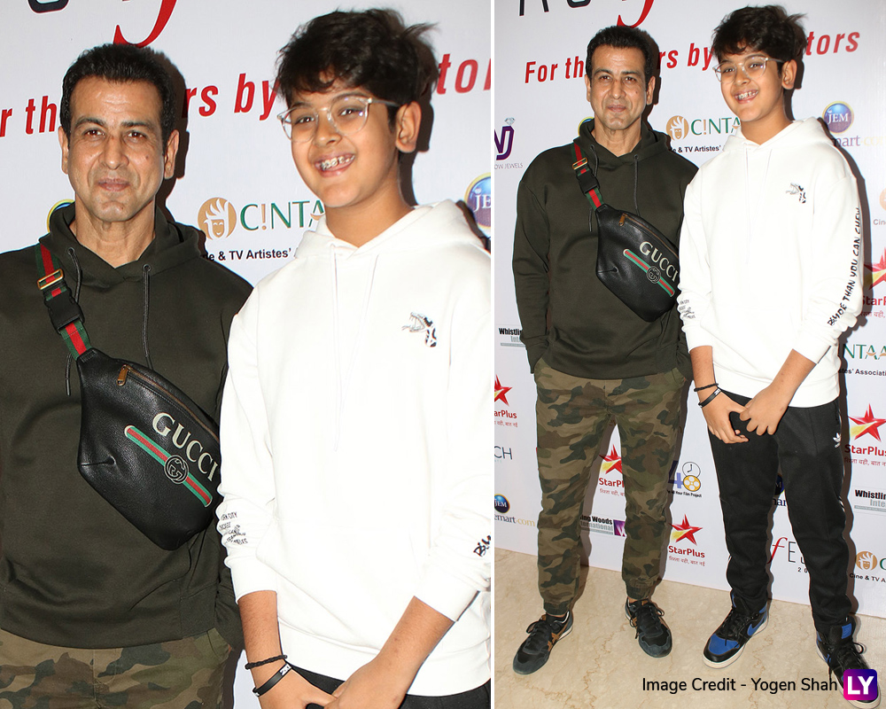 Ronit Roy attends CINTAA and 48 Hour Film Projects ActFest